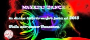 mazeta dance feliz 2013