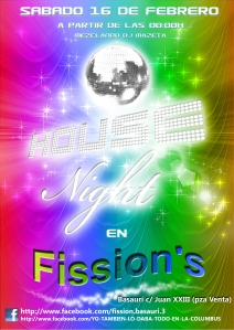 Fiesta House Night in Fission's